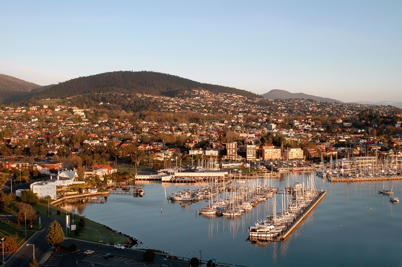 Start your Tasmanian journey in Hobart.